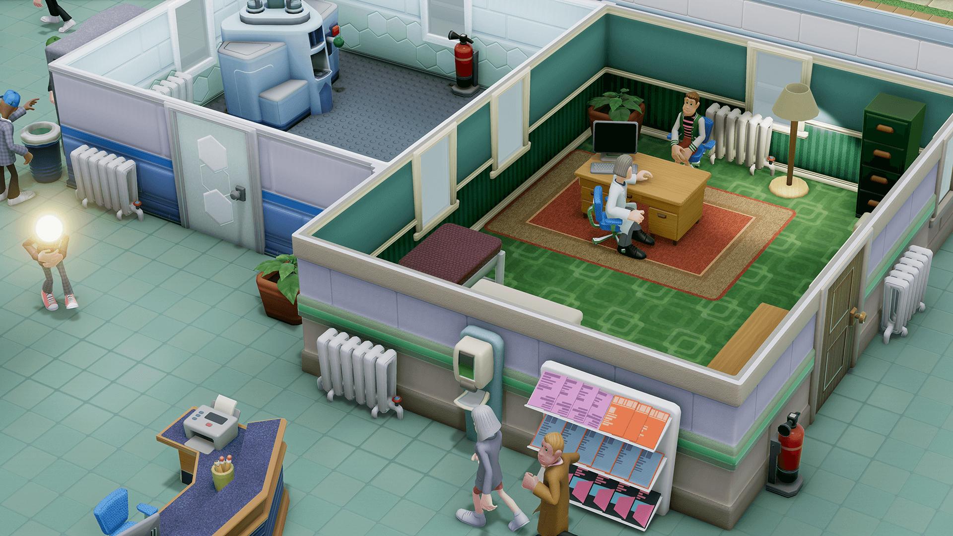 Two Point Hospital - Dai creatori di Theme Hospital arriva Two Point Hospital