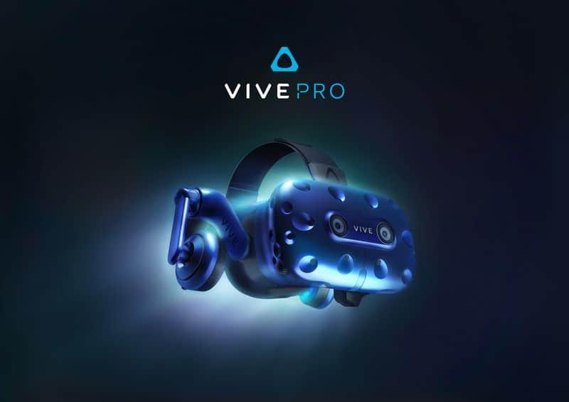 htc vive pro - Annunciato HTC Vive Pro con risoluzione migliorata, 3D audio e Wireless