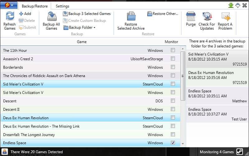 masgau - 6 utility gratuite per il vostro PC da gioco