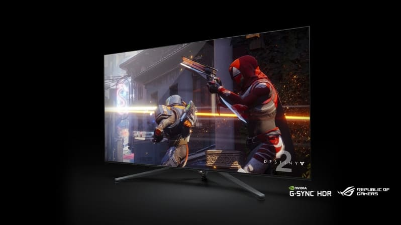 nvidia BFGD - L'enorme display NVIDIA da 65 pollici, 120Hz, HDR e SHIELD incluso