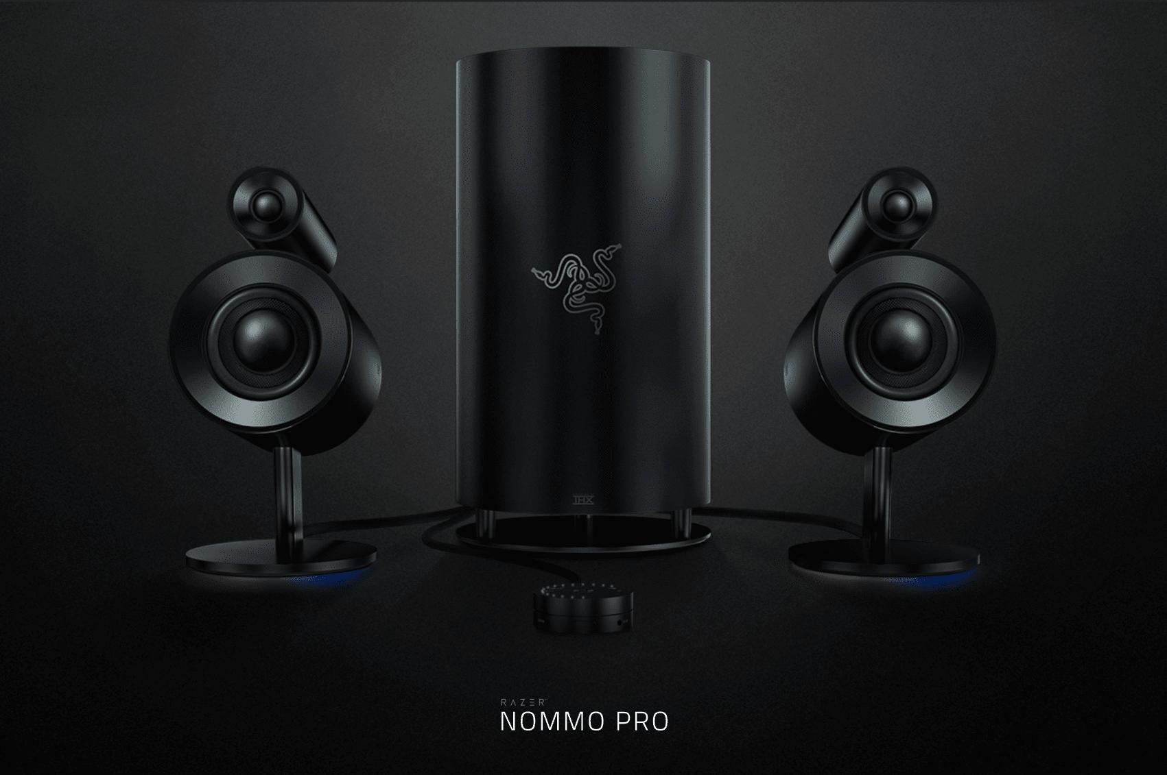 razer nommo 3 - Razer Nommo: la nuova linea di speaker per PC