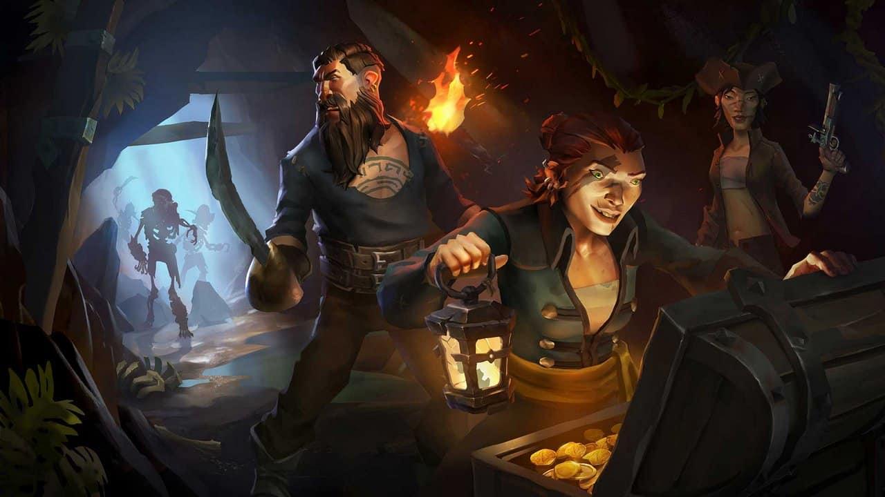 sea of thieves scheletri - Driver AMD Radeon Adrenalin Edition 18.3.3 BETA per Sea of Thieves e A Way Out