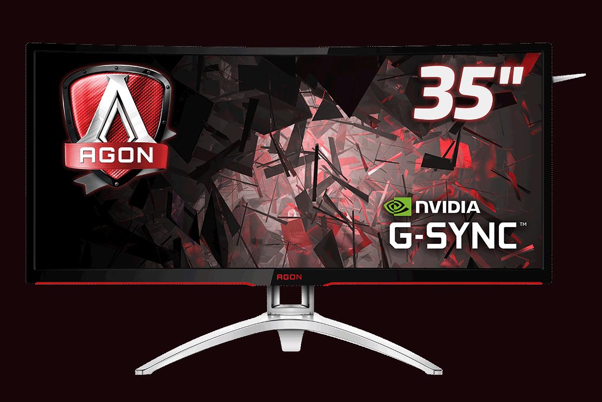 AG352UCG6 4 - AOC mostra il nuovo monitor curvo AGON AG352UCG6