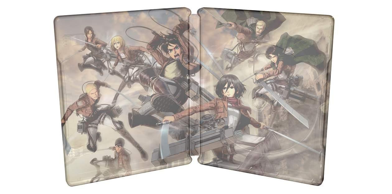 Attack on Titan 2 limited edition 2 - Svelata la Limited Edition Steel book di Attack on Titan 2