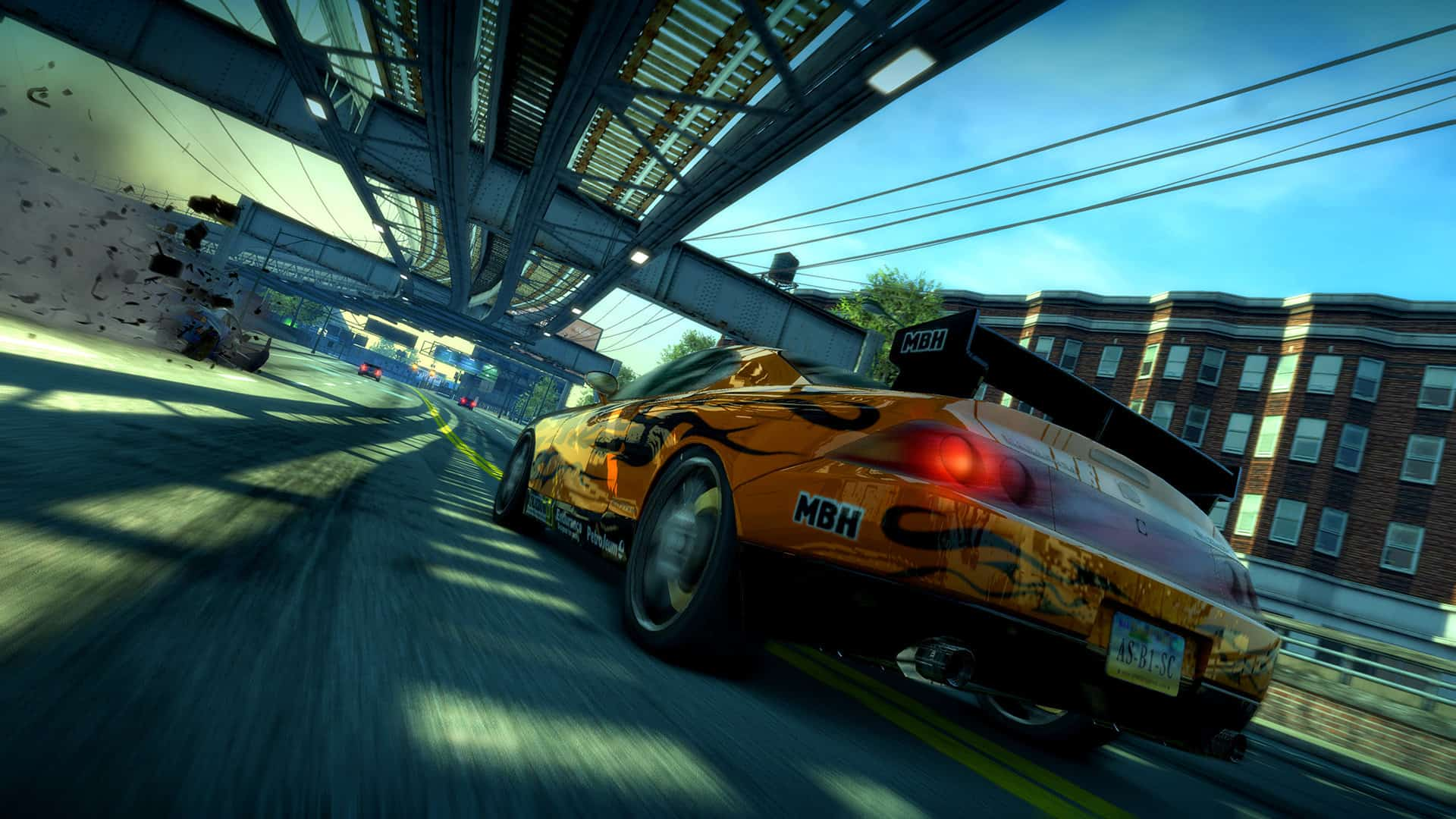 BOPR Screenshot 03 TunnelRun2 NoLogos - Annunciato Burnout Paradise Remastered