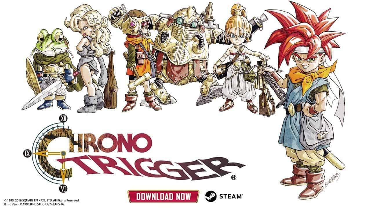 Chrono Trigger - Chrono Trigger è disponibile su Steam, ma è un porting della versione mobile