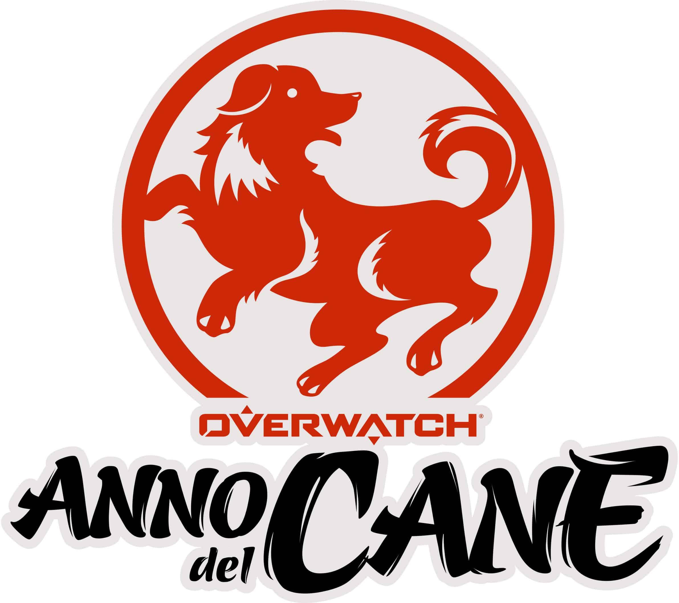 Logo Anno del Cane - Overwatch - Il Capodanno Lunare torna l'8 febbraio