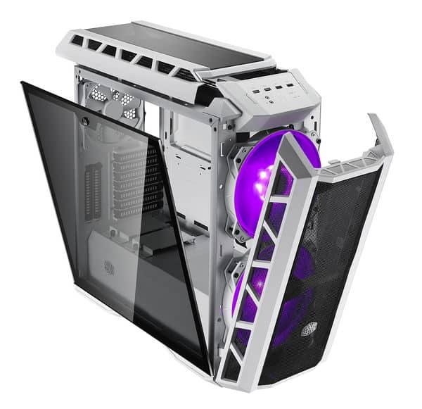 MASTERCASE H500P bianco 1 - Cooler Master presenta il case MASTERCASE H500P bianco