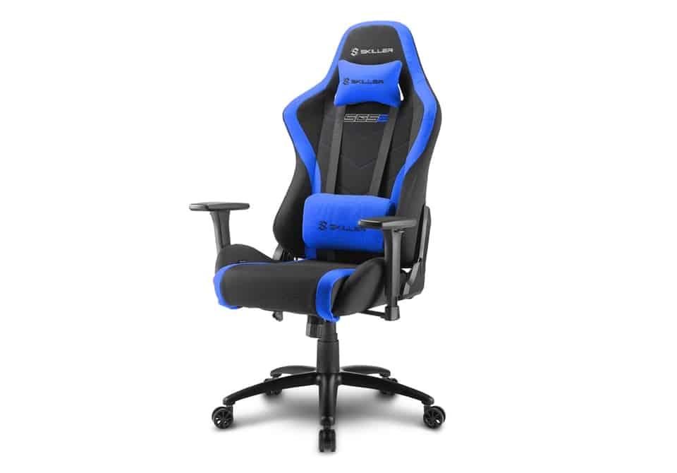 SKILLER SGS2 Blue 01 - Sharkoon presenta la sedia gaming SGS2