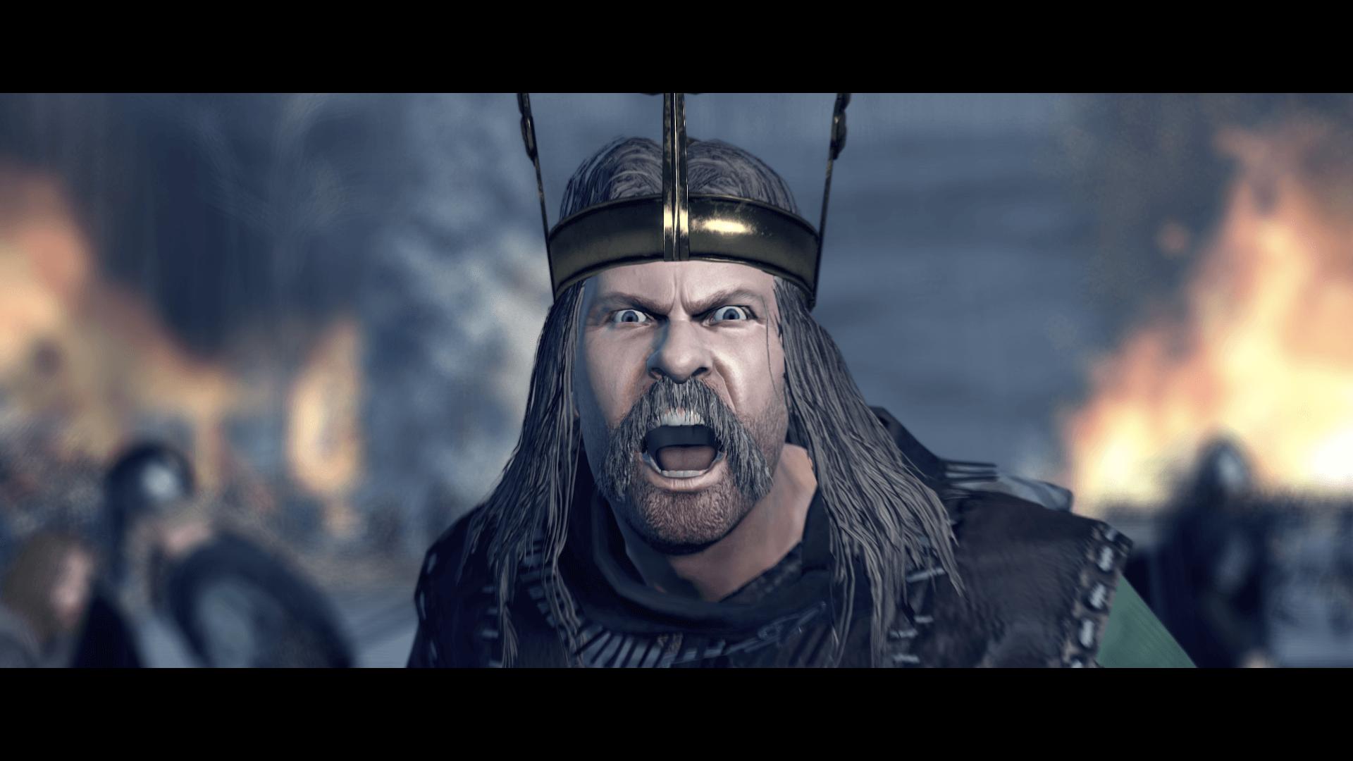 Total War Saga Thrones of Britannia flann sinna - A Total War Saga: Thrones of Britannia, il nuovo trailer cinematico presenta Flann Sinna