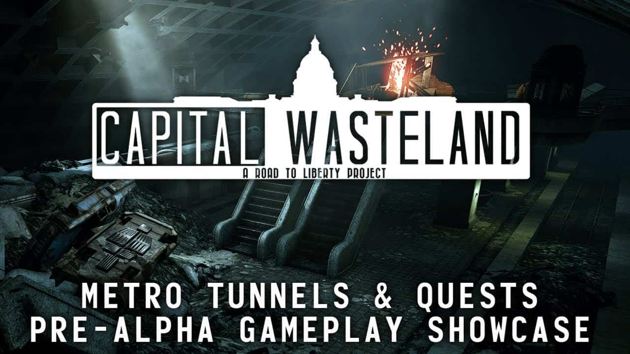 capital wasteland fallout 3 video - Capital Wasteland, il remake amatoriale di Fallout 3, si mostra in video