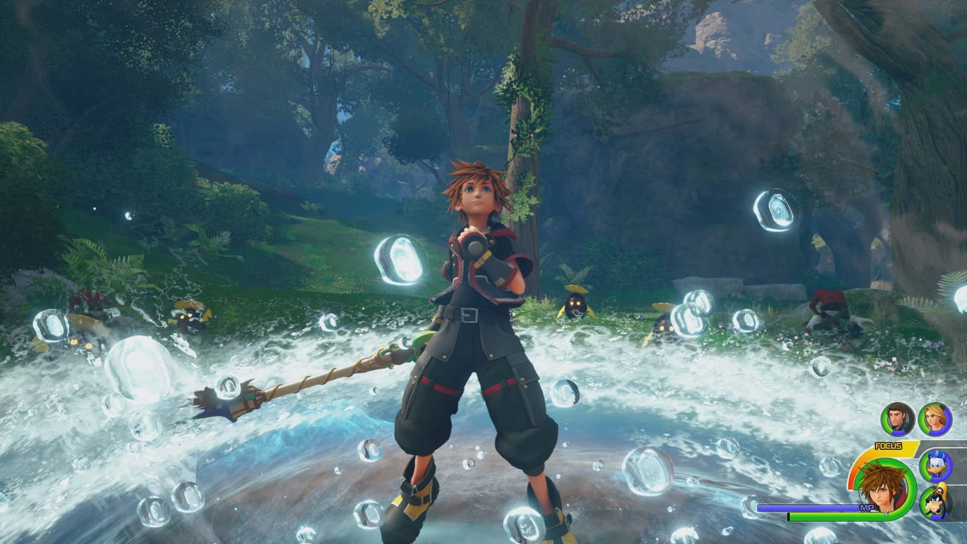 kingdom hearts 3 D23 Japan Battle Screenshot 14 1518440967 - KINGDOM HEARTS 3 apre le porte a Monsters & Co.