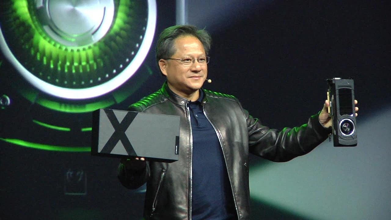 """nvidia huang dieci volte - Nvidia: """"Siamo dieci volte più grandi della concorrenza"""""""