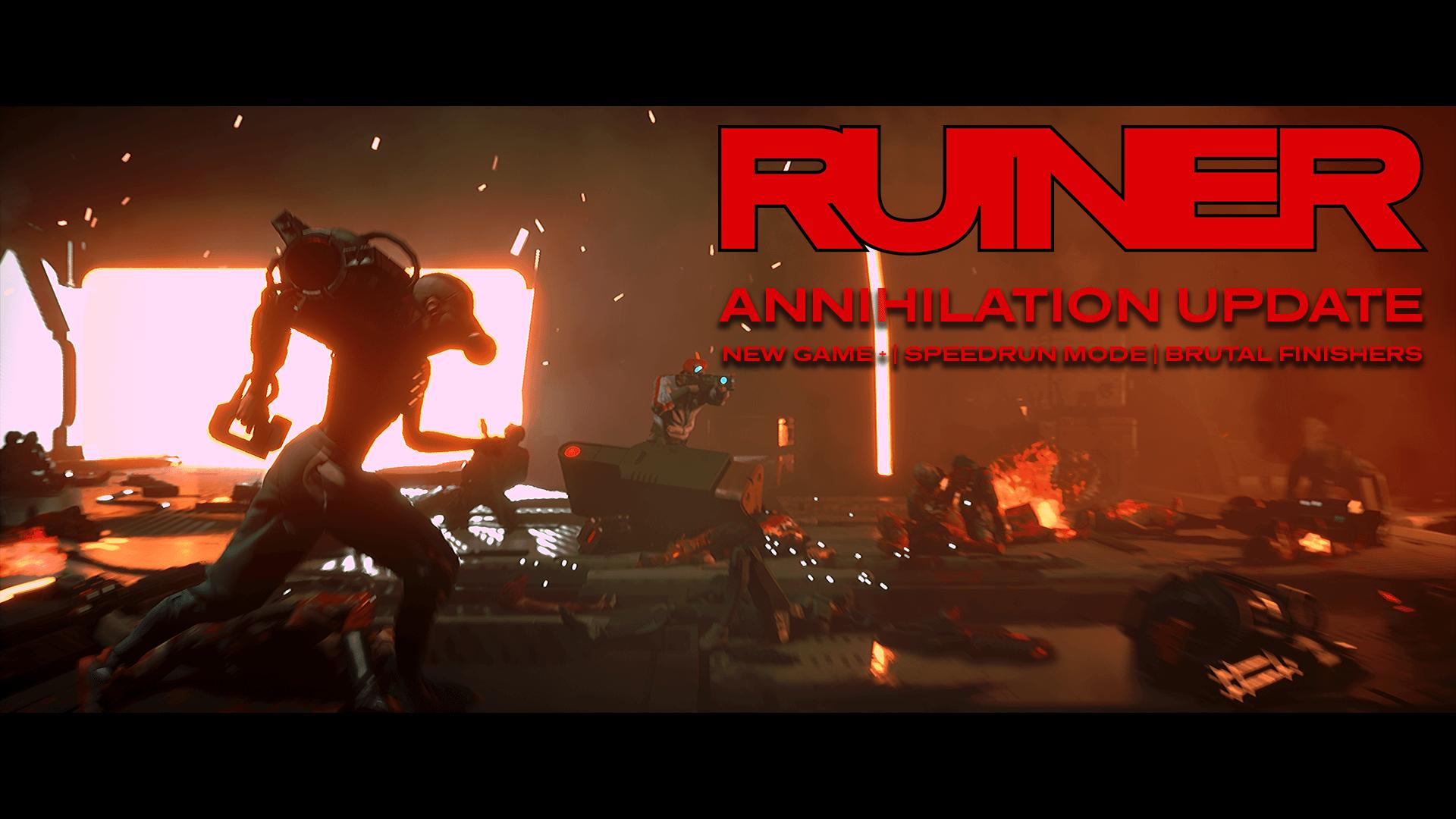 ruiner annihilation update - RUINER si aggiorna con il nuovo Annihilation Update