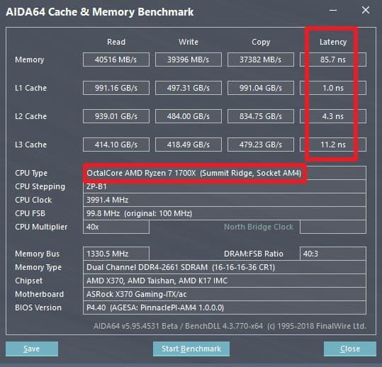 AMD Ryzen 2000 AIDA64 1 - Pubblicati i benchmark del nuovo Ryzen 7 2000 a 4.35GHz