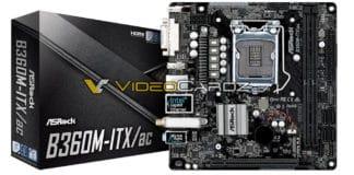 ASROCK B360M ITXac 3 324x160 - Le schede madri ASRock H370, B360 e H310 in foto