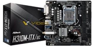 ASROCK H310M ITXac 3 324x160 - Le schede madri ASRock H370, B360 e H310 in foto