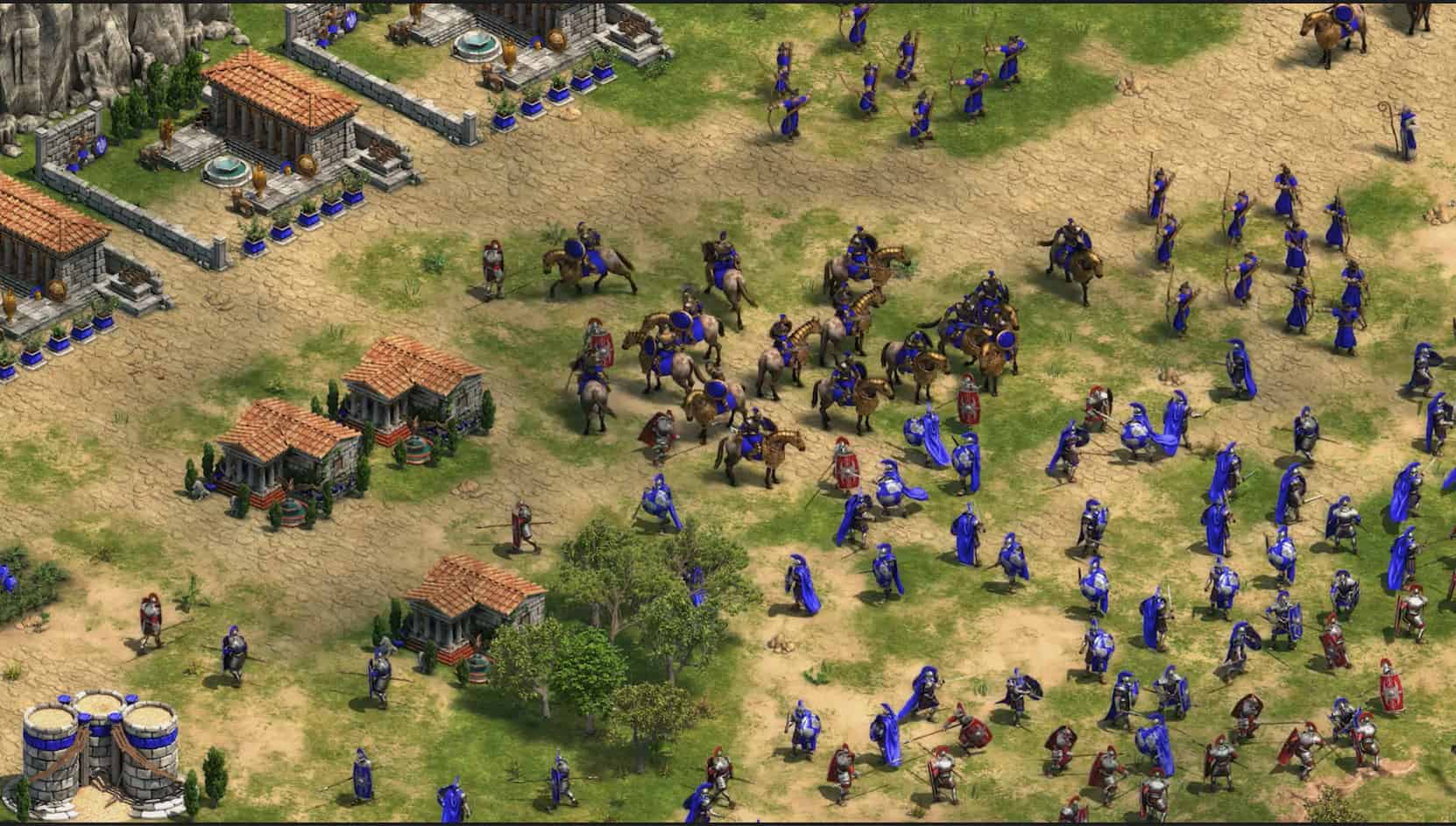 Age of Empries Definitive edition confronto 1 - Come gira...Age of Empires: Definitive Edition? - Recensione e analisi della versione PC