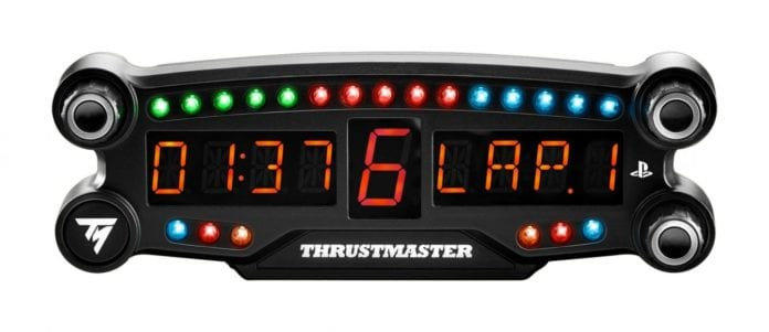 BT LED DISPLAY trustmaster1 696x301 - Trustmaster rilascia il primo display LED con tecnologia wireless Bluetooth