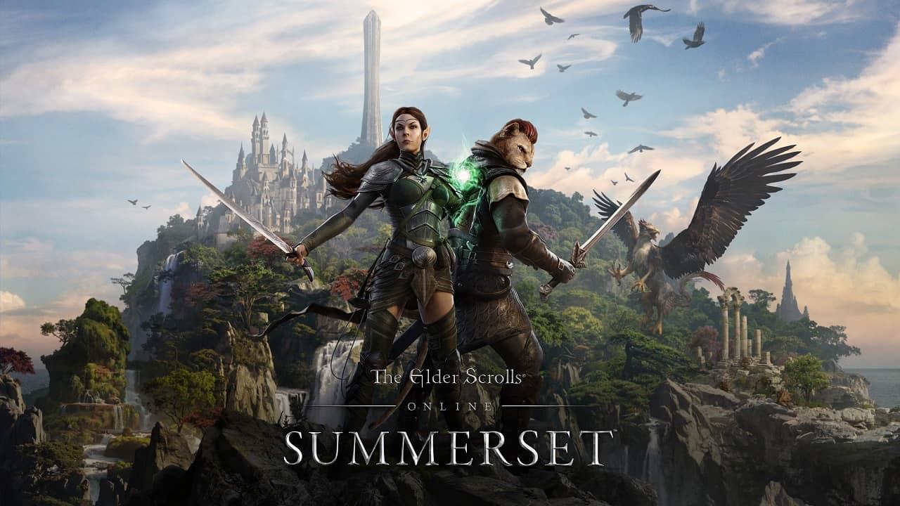 ESO Summerset KeyArt  1521454597 - Summerset è la nuova espansione di The Elder Scrolls Online
