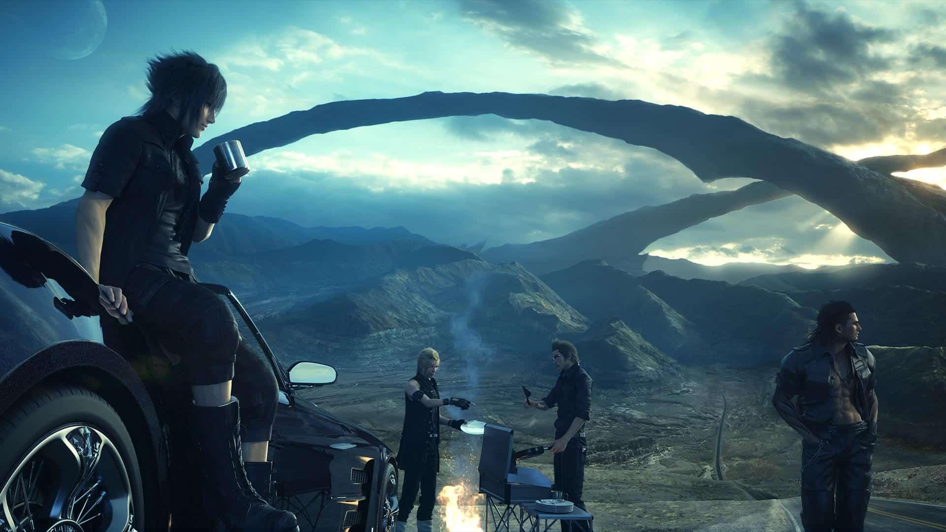 Final Fantasy XV camp - Come gira...Final Fantasy XV?