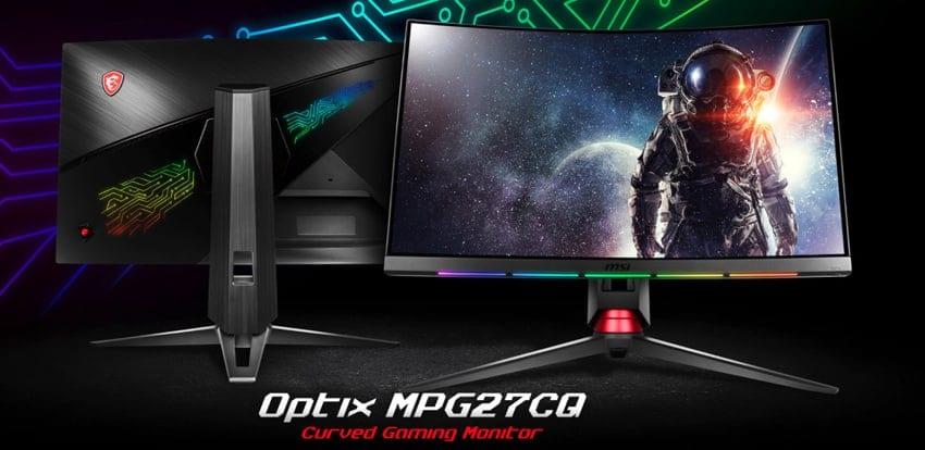 MSI Optix MPG27CQ - MSI Optix MPG27C e Optix MPG27CQ - Nuovi monitor gaming con tecnologie PrismSync e GameSense