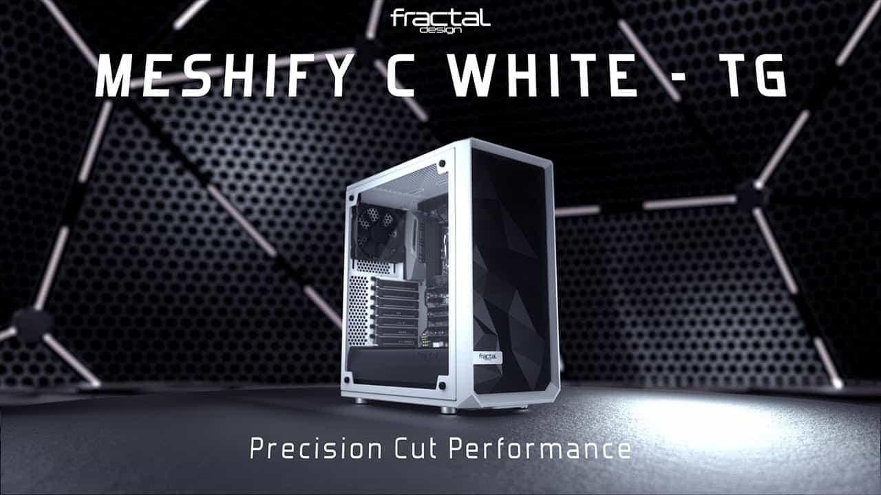 Meshify C Bianco TG 2 - Fractal Design annuncia il nuovo Meshify C Bianco - TG