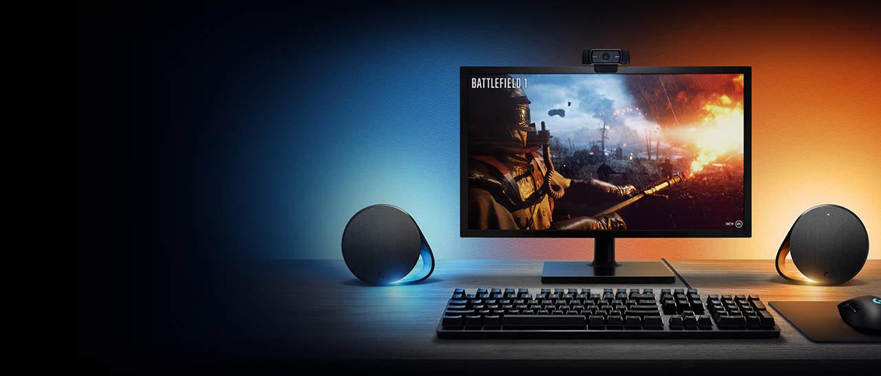 g560 lightsync pc gaming speakers - Logitech G presenta i nuovi Speaker G560 e la Tastiera Meccanica G513