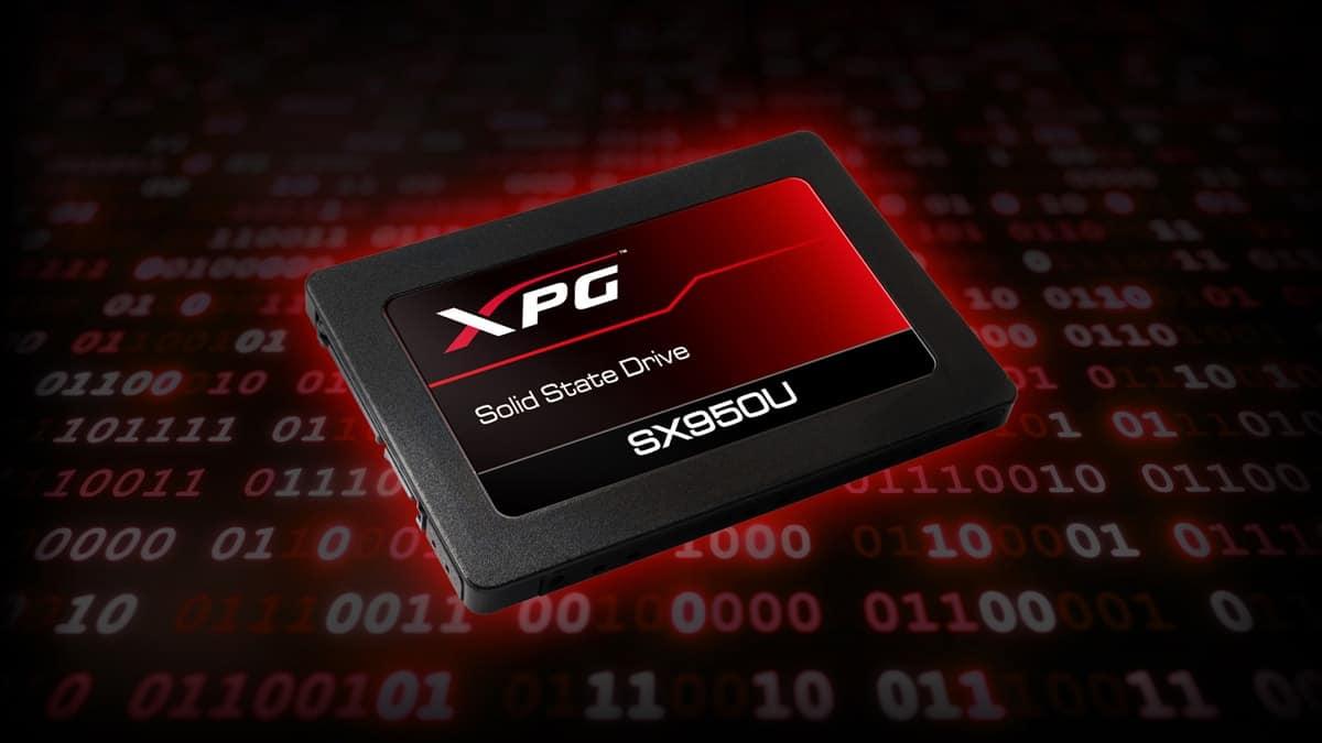 ssd adata SX950U 01 - ADATA XPG Presenta l'SSD Gaming SX950U 3D NAND