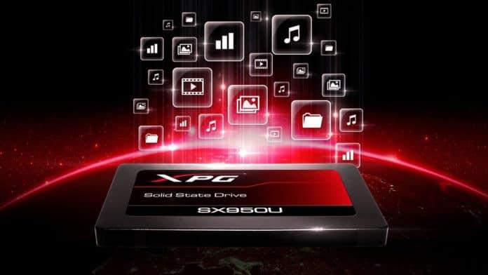 ssd adata SX950U 696x392 - ADATA XPG Presenta l'SSD Gaming SX950U 3D NAND