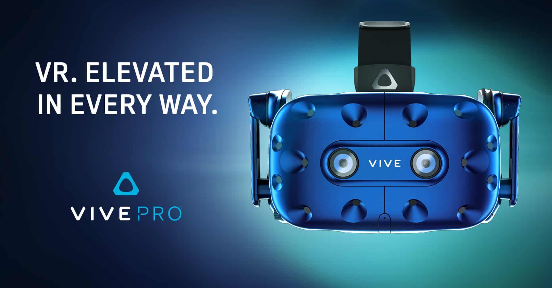 vive pro - HTC Vive Pro - Preordini aperti ad un prezzo esorbitante