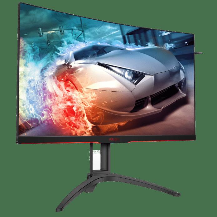 AG322QC4 FTR 1 696x696 - AOC annuncia AG322QC4, il primo monitor AGON con FreeSync 2 e HDR400