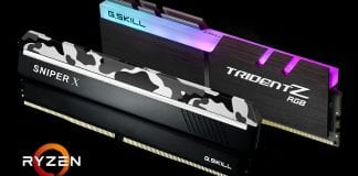 G.SKILL annuncia le memorie Trident Z RGB e Sniper X per AMD Ryzen 2000
