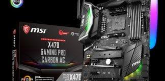 MSI presenta AM4 X470 GAMING, le schede madri per i nuovi processori AMD