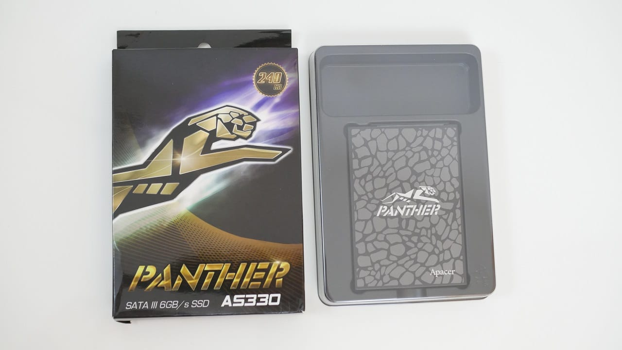 Apacer Panther AS330 recensione2 - Apacer Panther AS330 - Recensione SSD da 240 GB