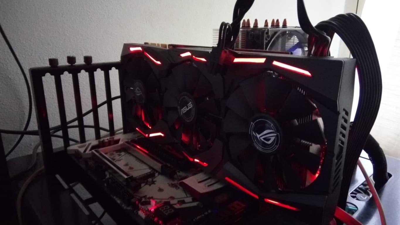 Asus ROG 1070 Ti LED Generic - Asus ROG Strix GTX 1070 Ti - Recensione