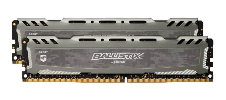 Ballistix Sport LT 2x4GB 2400 MHz