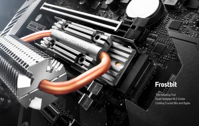 CRYORIG Frostbit M.2 696x442 - I nuovi dissipatori CRYORIG Frostbit M.2 e C7 RGB