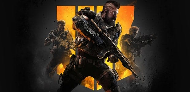 Call of Duty: Black Ops 4 - logo del gioco