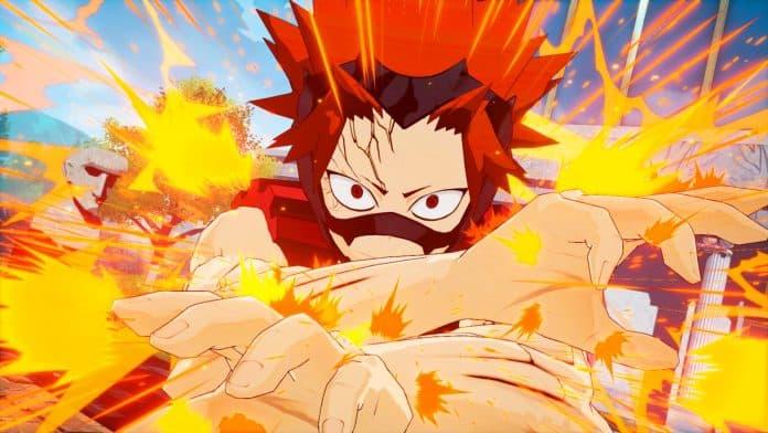 MY HERO ONE'S JUSTICE 1 696x392 - Fumikae, Eijiro e Kyoka si uniscono al roster di MY HERO ONE'S JUSTICE