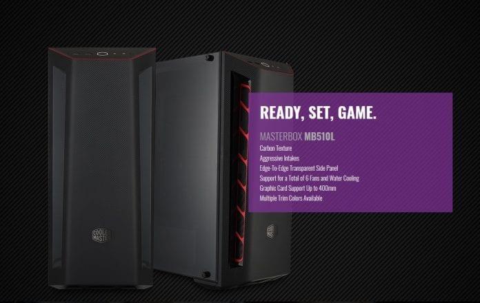 MasterBox MB510L 3 696x440 - Cooler Master presenta il case MasterBox MB510L