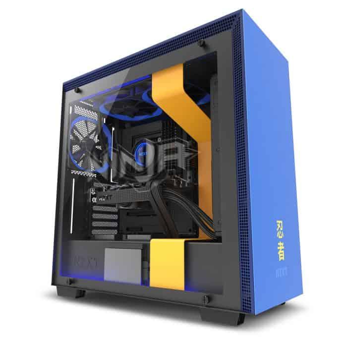 NZXT H700i Ninja Edition 4 696x696 - Il nuovo case NZXT H700i Ninja Edition
