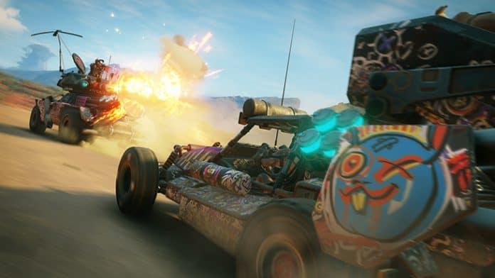 Rage 2 - combattimento tra veicoli