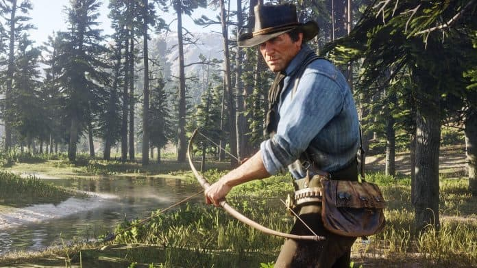 Red Dead Redemption 2 gameplay della caccia