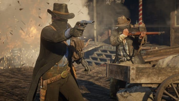 Red Dead Redemption 2 gameplay delle sparatorie