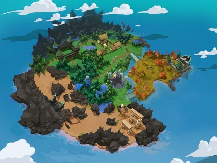 battle royale map edit 696x523 - Svelata la mappa dell'isola di Battlerite Royale
