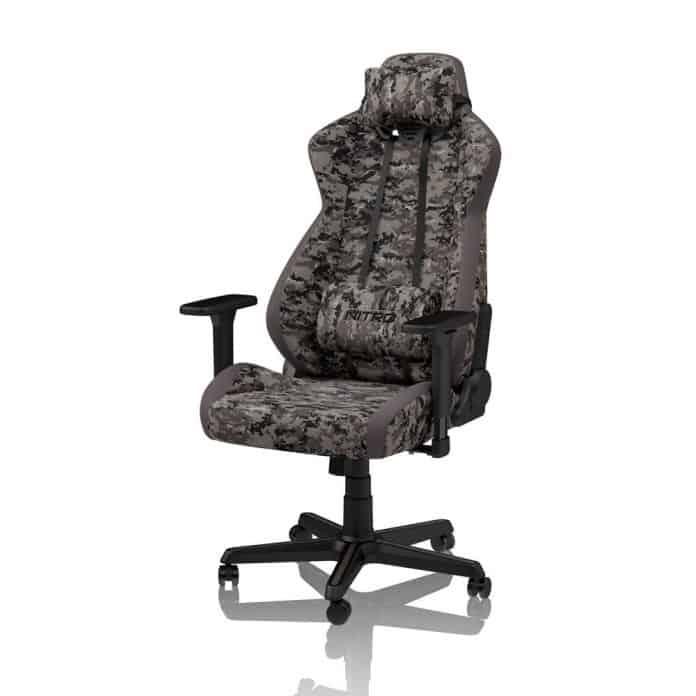 nitro concepts S300 Urban Camo1 696x696 - S300 Urban Camo è la nuova sedia da gioco Nitro Concepts