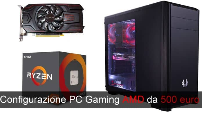 PC Gaming 500 euro AMD