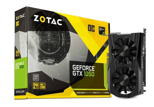 Zotac GTX 1050 OC 2 GB