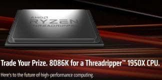 Scambia i7 8086K con Threadripper 1950X, la nuova iniziativa di AMD